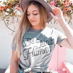 Be A Kind Human Graphic Tee
